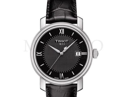 Tissot męski - czarny zegarek
