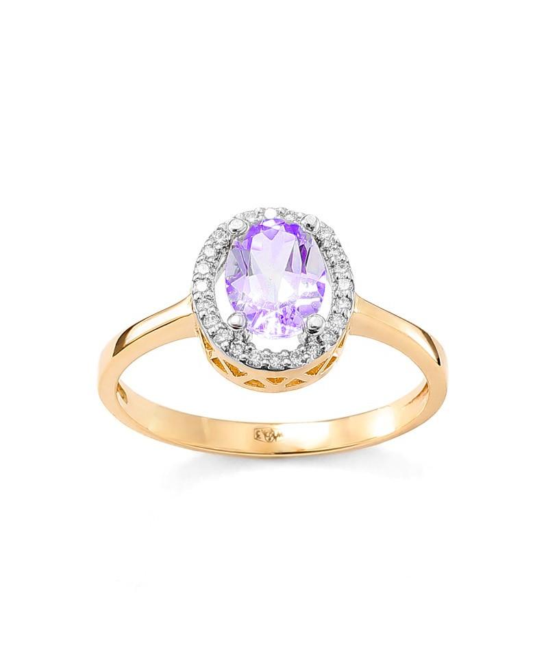 pierścionek zaręczynowy z tanzanitem